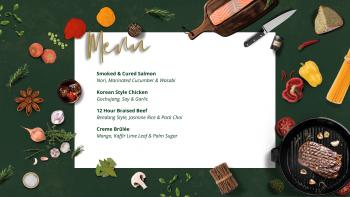 asian demo & dine menu