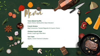 french demo & dine menu