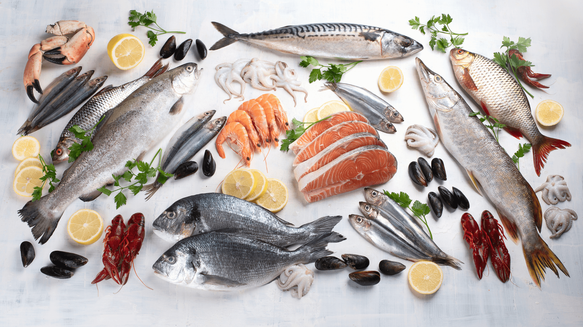 Fish & Seafood Assortment