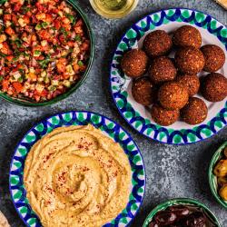 Middle Eastern Food Spread