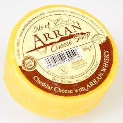 Cheddar with Arran Whisky 200g
