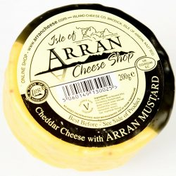 Cheddar with Arran Mustard 200g