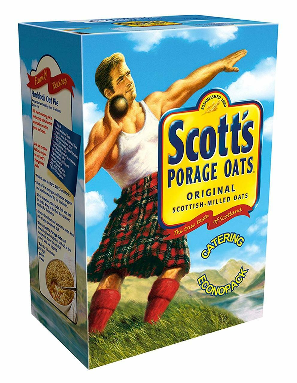 Scott's Porridge Oats 3kg box