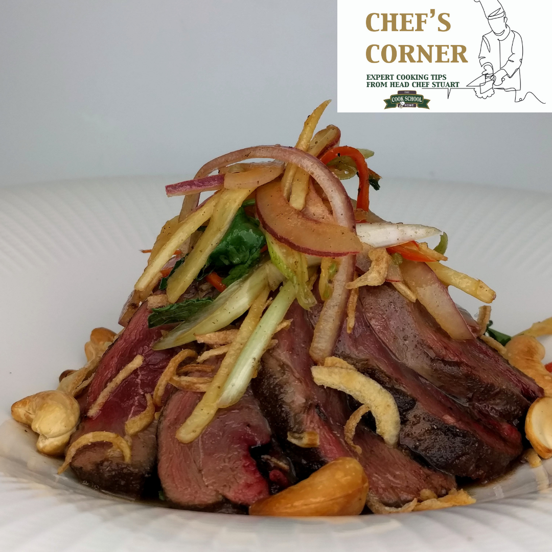 Hot & Sour Mallard Duck Salad