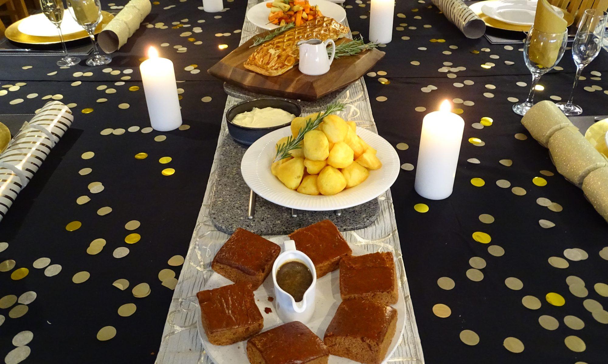 NEW YEAR'S DINNER SPREAD