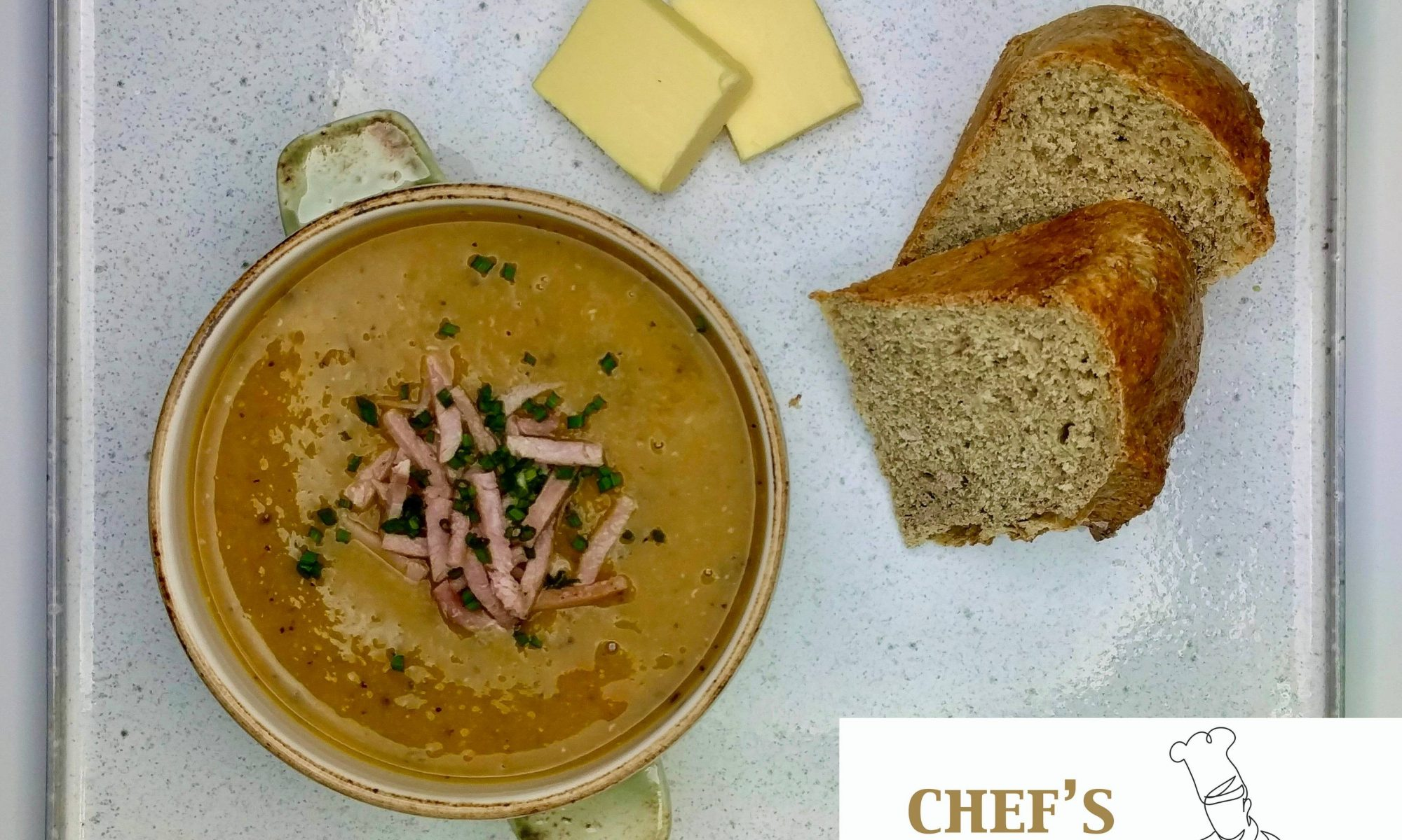 Lentil Soup & Soda Bread