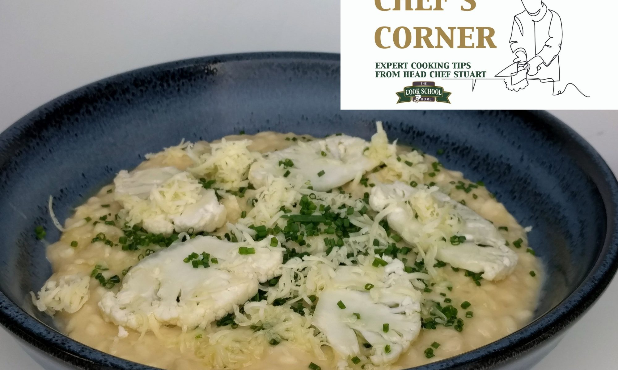 CAULIFLOWER CHEESE RISOTTO