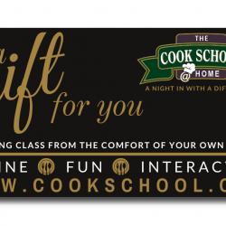 Cook School @ Home Class eVoucher
