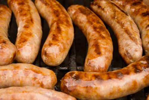 sausages bbq