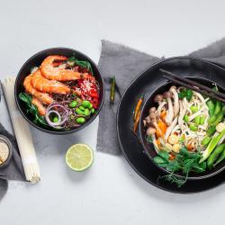 Asian Half Day Food Spread