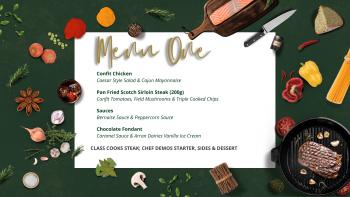 steak night menu