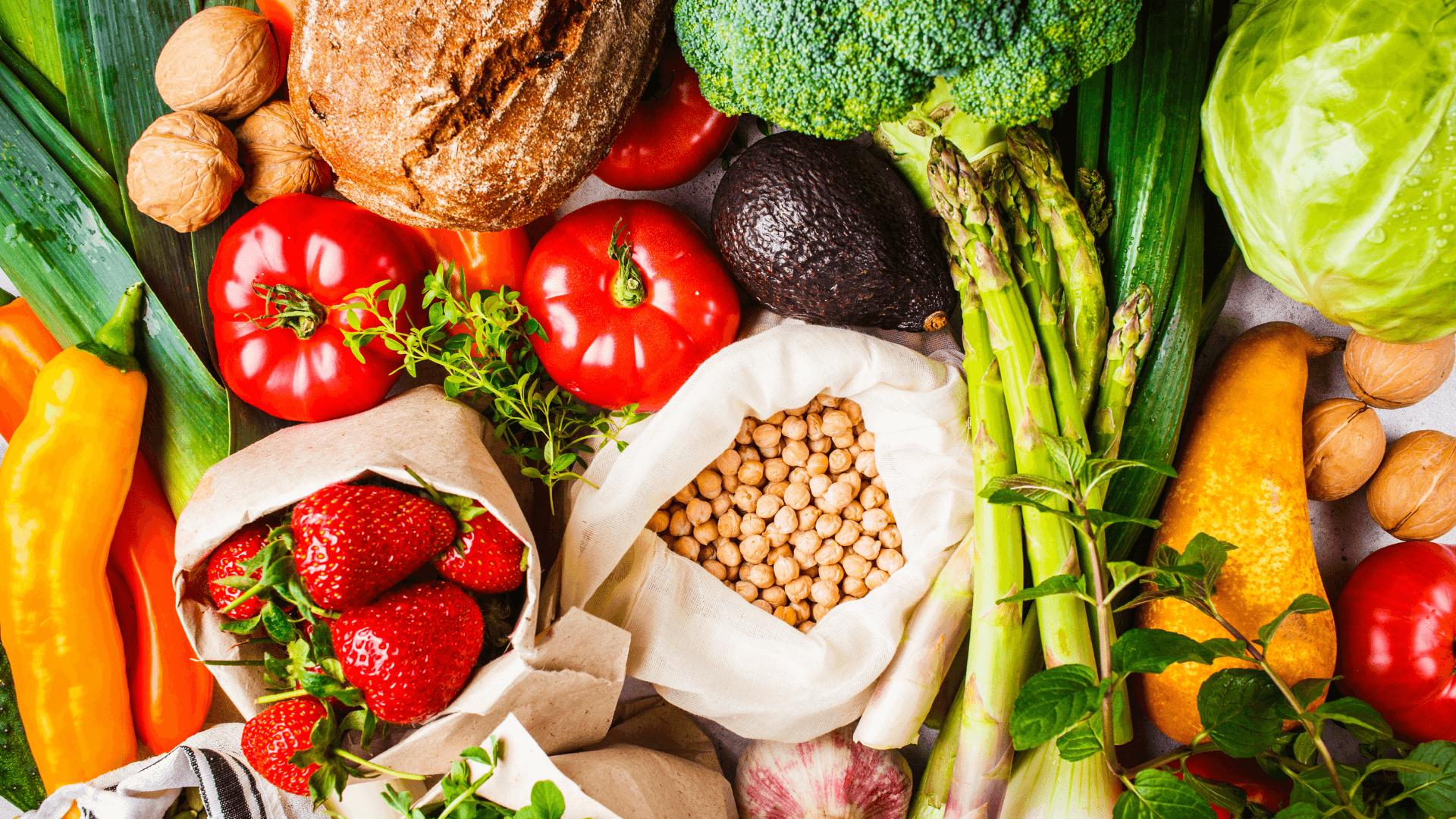 Vegetarian Food Spread