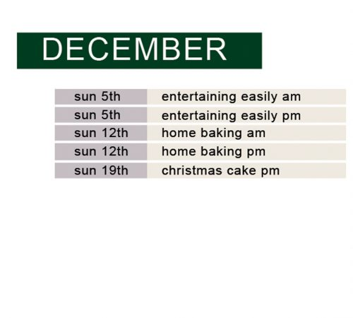 december no xmas cake am
